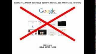 Como Cambiar La Pág De Google En Nueva Pestaña