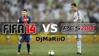 FIFA 14 Vs PES 2014 ¿CUAL ES MEJOR? DjMaRiiO