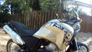 Avaliação Com A Yamaha XTZ 250 Ténéré