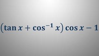 Poenostavljanje izrazov kotnih funkcij 5