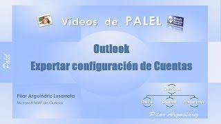 Outlook: Exportar Cuentas De Correo
