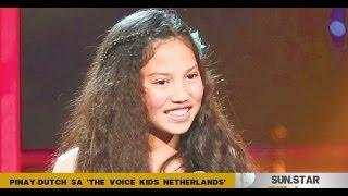 Pinay-dutch Sa 'The Voice Kids Netherlands'