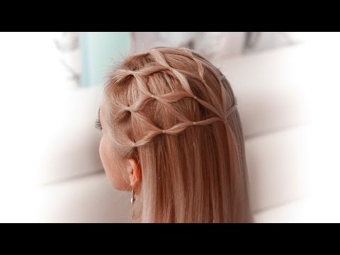 Hair net tutorial: cute Halloween hairstyle for a princess/elf/fairy/goddess/angel