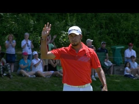 Miguel Angel Carballo's outstanding eagle on No. 15 at Travelers