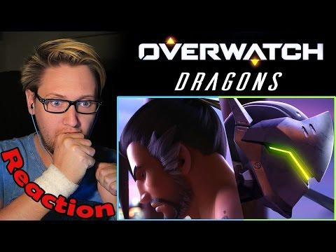 """Overwatch Animated Short   """"Dragons"""" REACTION!   THE HYPE TEARS!  """