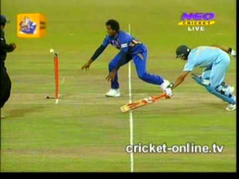India vs Sri Lanka T20-20 Highlights Cricket 2009 part1