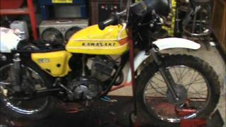 Old Kawasaki 100 Running Again!