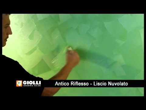 Giolli - farba dekoracyjna Antico Rifllesso Liscio