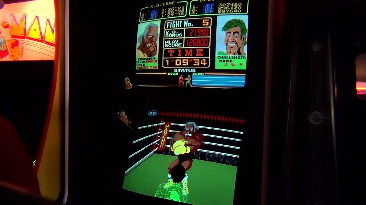 nintendo super punch out arcade - 283 470