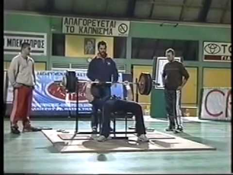 powerlifting kefalonia 2002