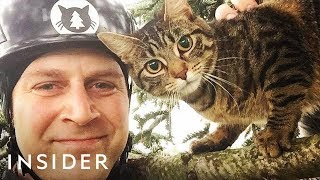 Why These Brothers Rescue Cats From Trees