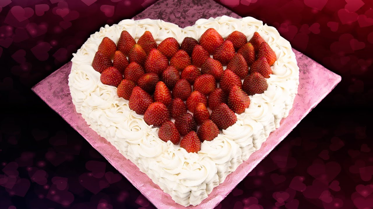 heart shaped cake valentine 39 s day cake from cookies. Black Bedroom Furniture Sets. Home Design Ideas
