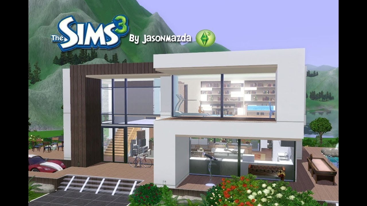 22 amazing sims 3 mansion designs building plans online for Minimalist house the sims 3