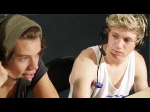 One Direction - questions from fans on The Bert Show part 2