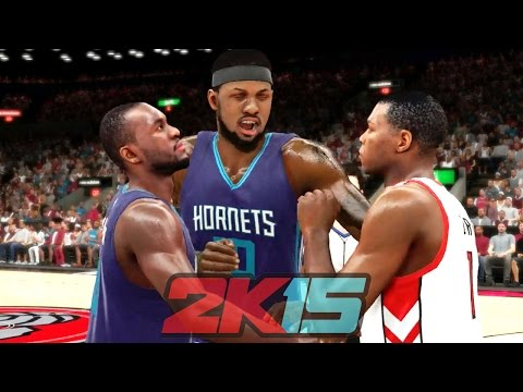 NBA 2k15 MyCAREER Gameplay - FIGHT in Season Finale! Bridges Suspended for Playoffs?
