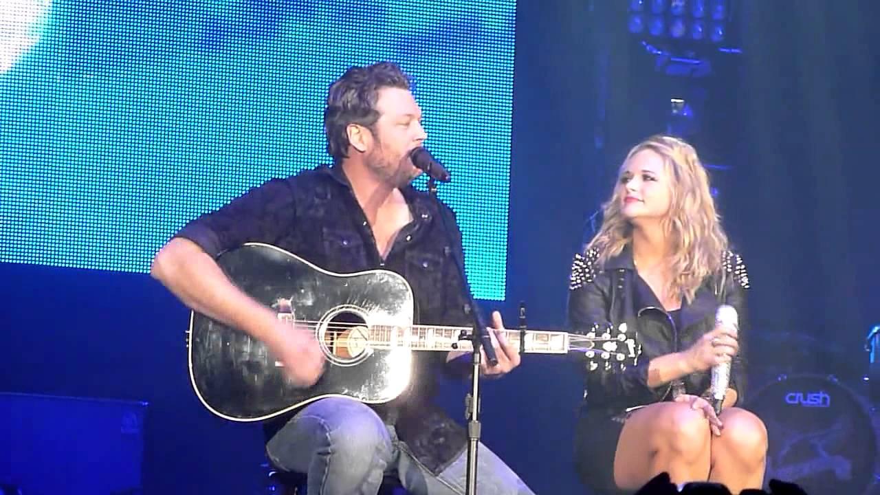 Blake Shelton And Miranda Lambert Duet In Dayton Ohio 2 15
