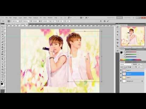 Hướng dẫn làm nền zing đơn giản với photoshop - By Hely Phạm