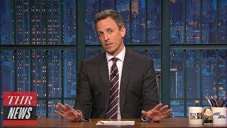 Late-Night Hosts Address Eminem's Freestyle Against Donald Trump   THR News