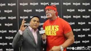 Wrestling Legend Hulk Hogan Talks Wrestlemania 31