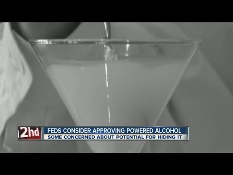 Feds considering powdered alcohol 'palcohol' but some concerned about dangers