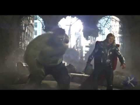 Thor vs Hulk [HD]