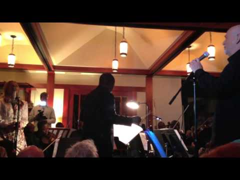 Peter Gabriel with The Orchestre Symphonique Kimbanguiste In Malibu California 2013