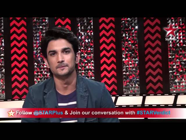 Sushant Singh Rajput has a special message for our STAR Plus viewers
