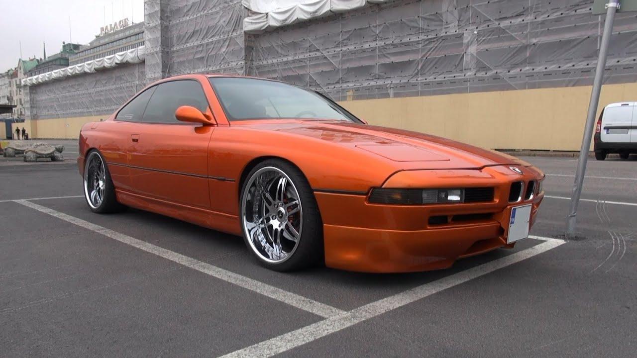 Candy Orange Bmw 850 Cia On 20 Quot Savini Forged Wheels Youtube