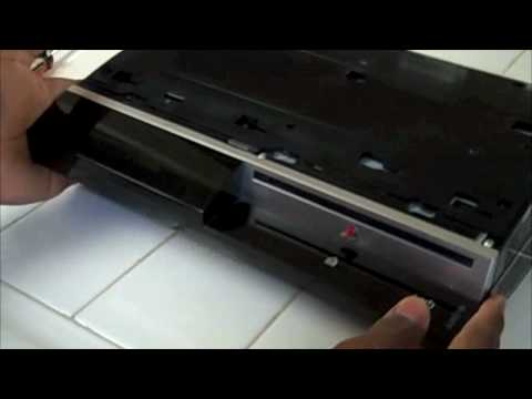 PS3 YLOD Step by Step FIX / Repair Part 1 of 4 HD
