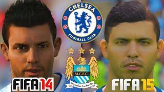 FIFA 15 Vs FIFA 14 Spielergesichter : FC Chelsea