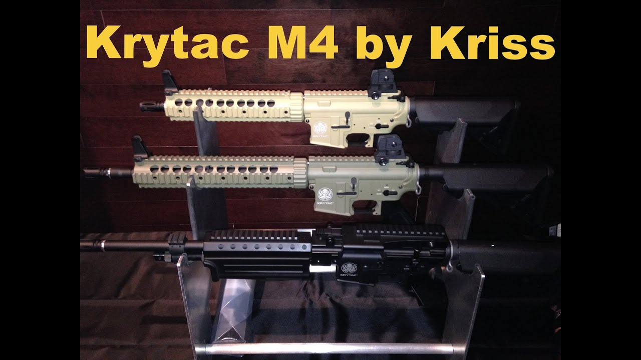 kriss krytac trident airsoft m4 aeg revealed youtube. Black Bedroom Furniture Sets. Home Design Ideas