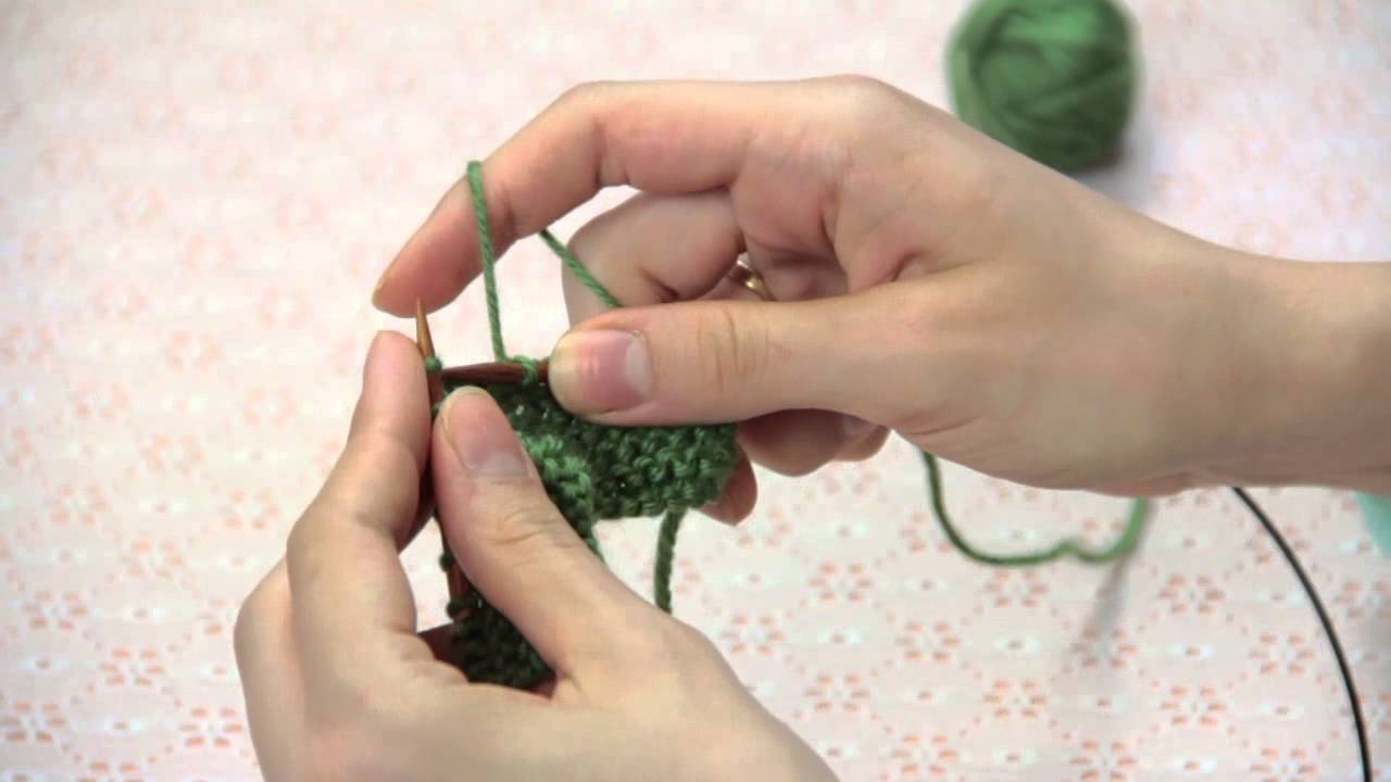 Hand Knitting Techniques : How to knit faster knitting techniques youtube