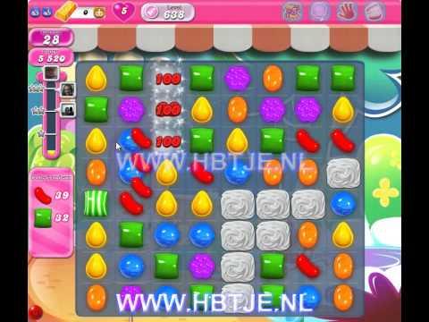 Candy Crush Saga level 638