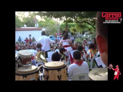 Banda Filarmónica de Huajuapan, baña de folclor mixteco a Sinaloa