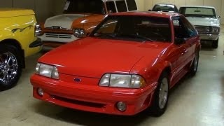 1993 Ford Mustang GT 5.0 Five-Speed Nice Low Mileage Fox