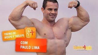 Treino de Bíceps e Tríceps com o Paulo Lima