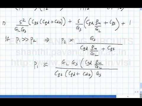 Lecture 39 (Part B) - Frequency response of the common-source amplifier (contd), the Miller effect