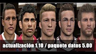 DLC 5.0 De Pro Evolution Soccer 2014 Más De 60 CARAS
