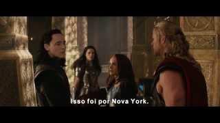 Thor 2: O Mundo Sombrio Trailer 2 Oficial (DUBLADO