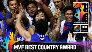 MVF Best Country Award: Philippines - 2014 FIBA Basketball World Cup