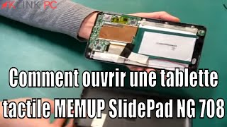 Tuto Comment Ouvrir Une Tablette Tactile MEMUP SlidePad NG