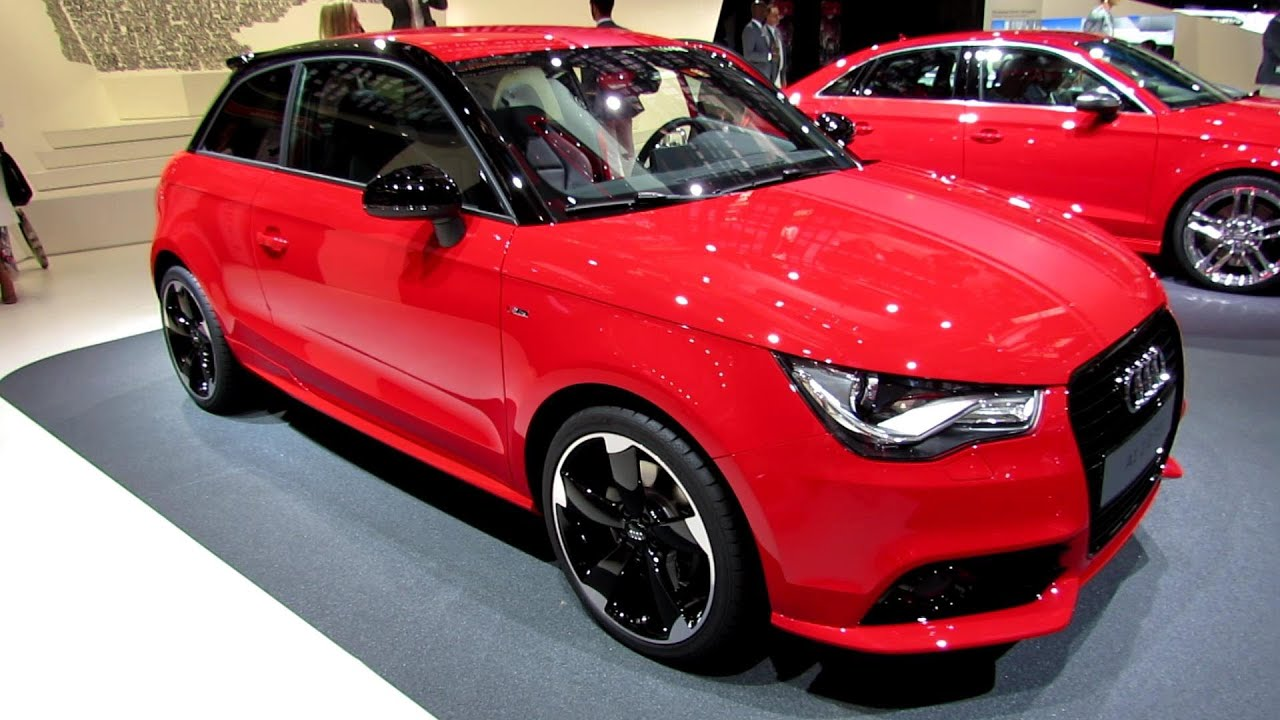 2014 audi a1 2 0 tdi s line exterior and interior for Audi a1 sportback interieur