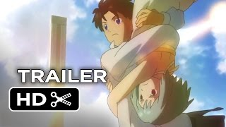 Patema Inverted Official Trailer 1 (2014) Animated Movie