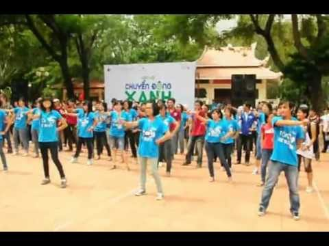 FlashMob - Chuyển động xanh 2012 - What makes you beautiful