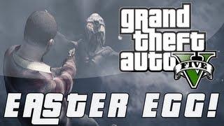 """GTA 5 Frozen Alien Easter Egg """"Prologue""""- (Grand Theft"""