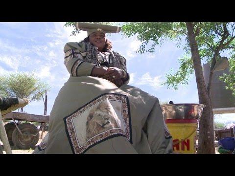 Así se casan las mujeres Herero