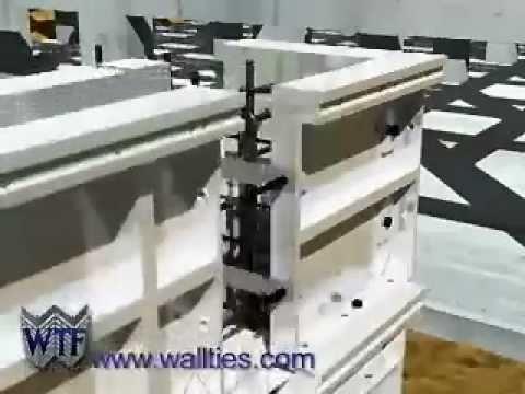 Formy do stawiania ścian betonowych