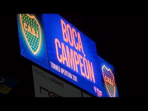 BOCA CAMPEON AP11 / Desde la tribuna (HD)