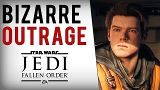 Ubisoft Dev, Game Journalists TRASH Star Wars Jedi Fallen Order For