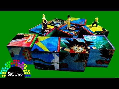 Đồ chơi xếp hình 3D - 7 Viên Ngọc Rồng Dragon Ball Blocks Activity Cube Puzzle | SM Two